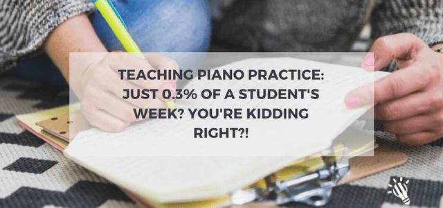 teaching piano practice