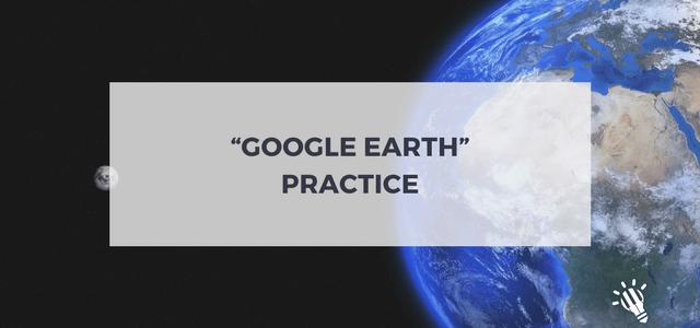 google earth practice