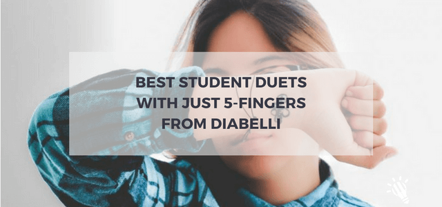 student duets five fingers diabelli