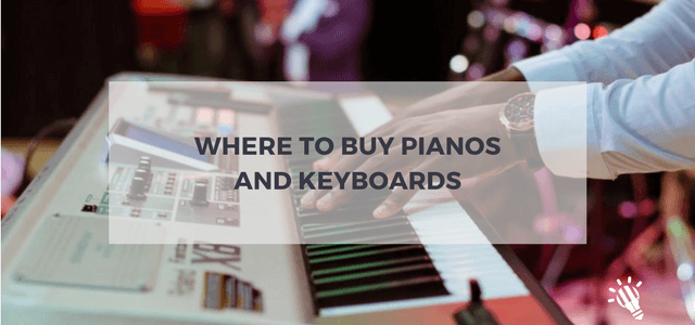 where to buy pianos and keyboards