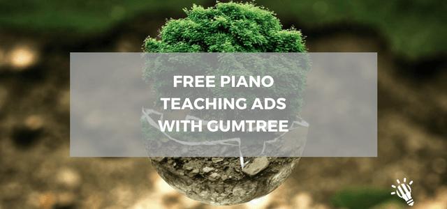 free piano teaching ads
