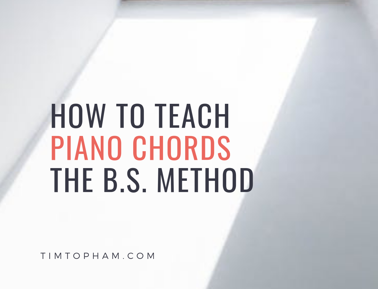 teach piano chords