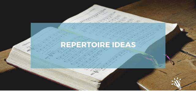 repertoire ideas