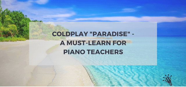 coldplay piano teachers