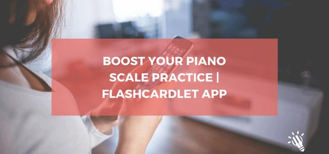 piano scale practice