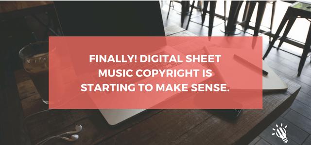 digital sheet music
