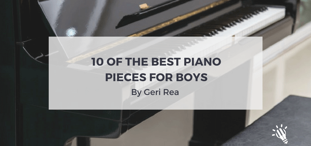 best piano pieces for boys