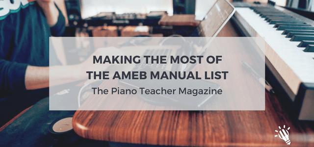 ameb manual list