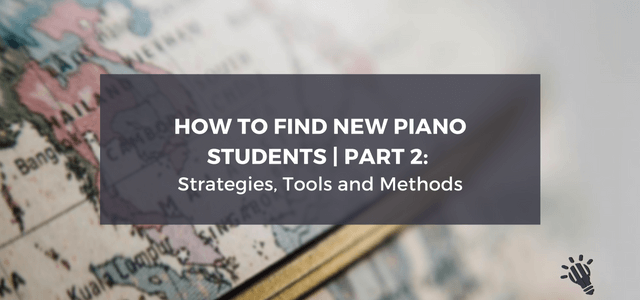 piano students strategies tools methods