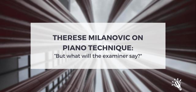 piano technique therese milanovic