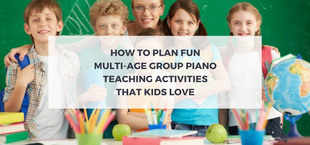 multi-age group piano