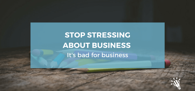 stress bad for business