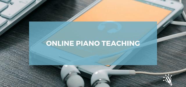 online piano teaching