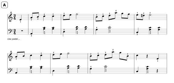 Easy Chopin Waltz Arrangement