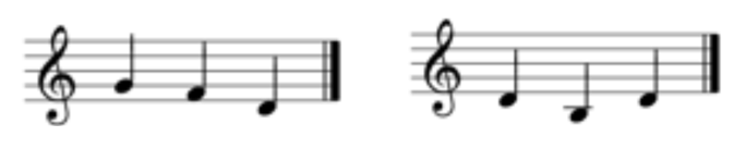 dominant patterns in c major