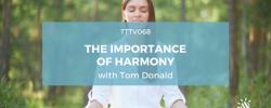 teaching harmony