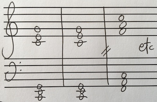 piano chord composition