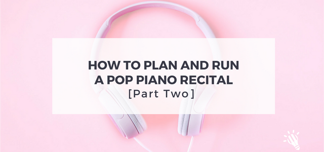 pop piano recital