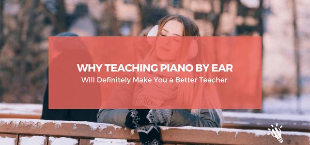teaching piano by ear