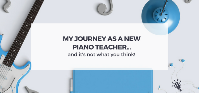 new piano teacher journey