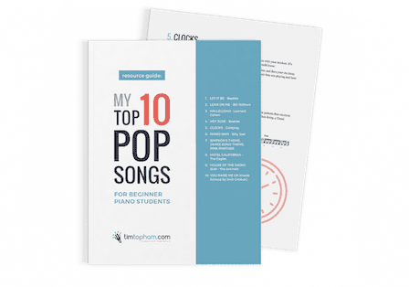 Top 10 Pop Songs for Piano Students - Top Music Co