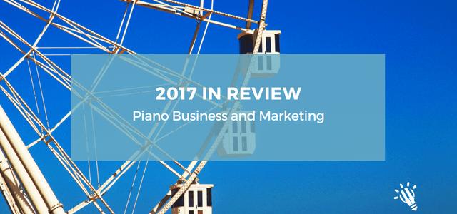 2017 piano business marketing