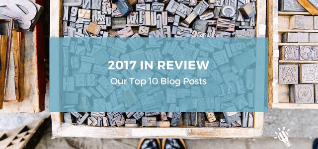 2017 top 10 blog posts
