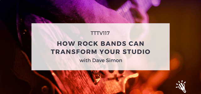 rock bands transform studio with dave simon