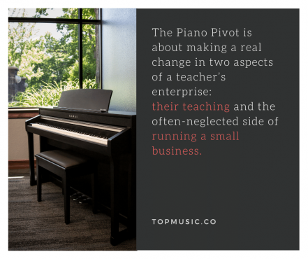 Piano Teachers Conference quote