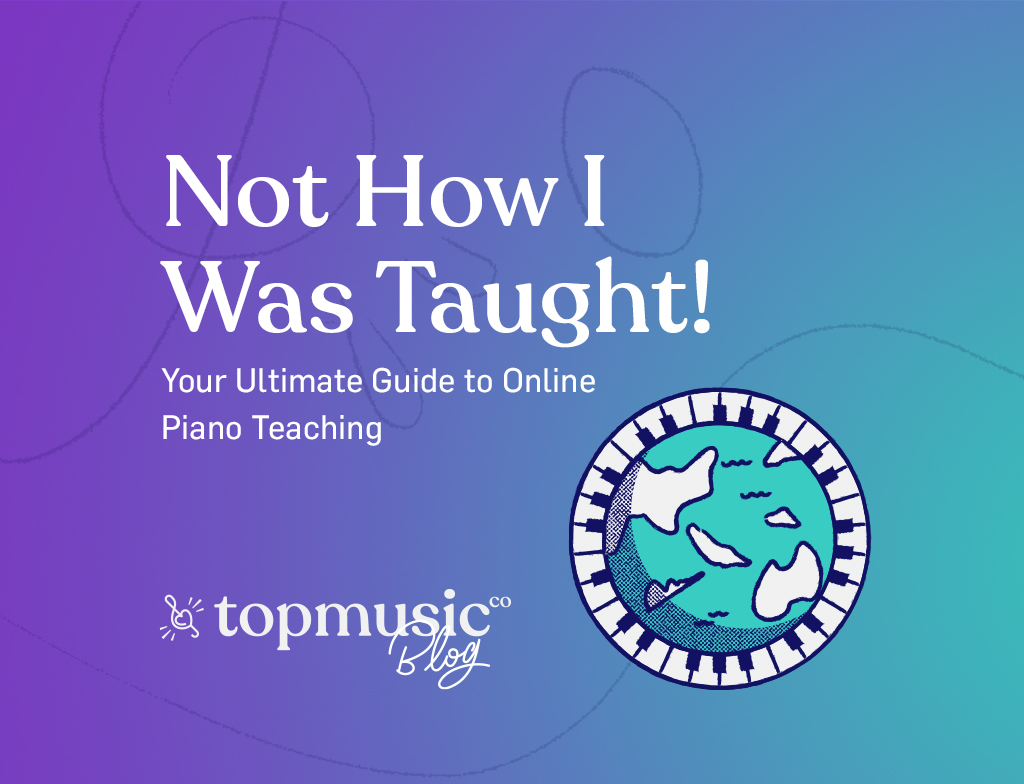 Not How I was Taught - online piano teaching main banner