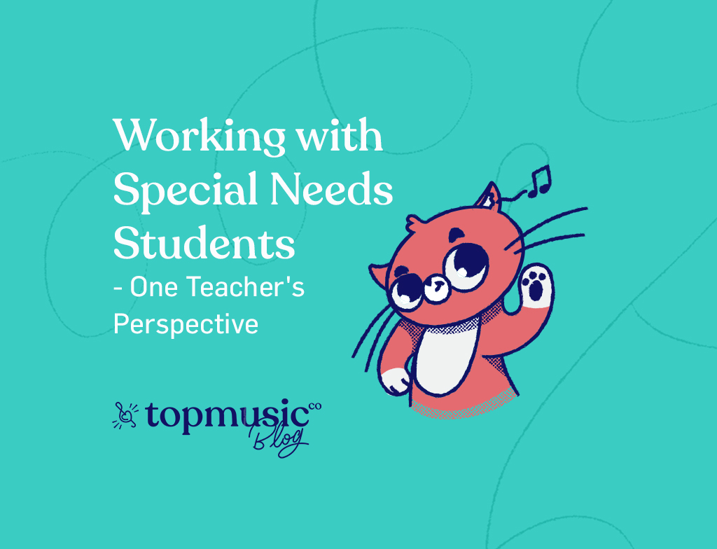 Working with Special Needs Students - One Teacher's Perspective