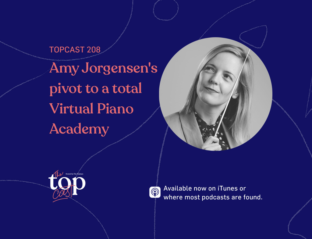 EPISODE 208 - Amy Jorgensen's pivot to a total Virtual Piano Academy