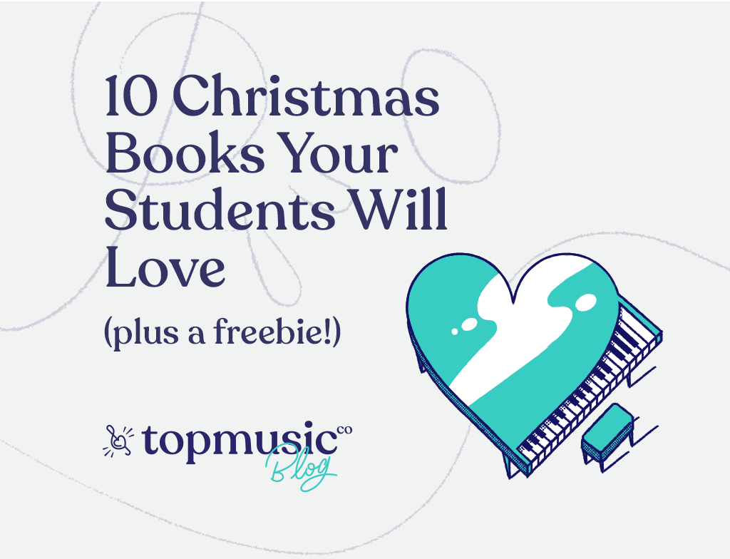 10 christmas piano books your student will love blog post