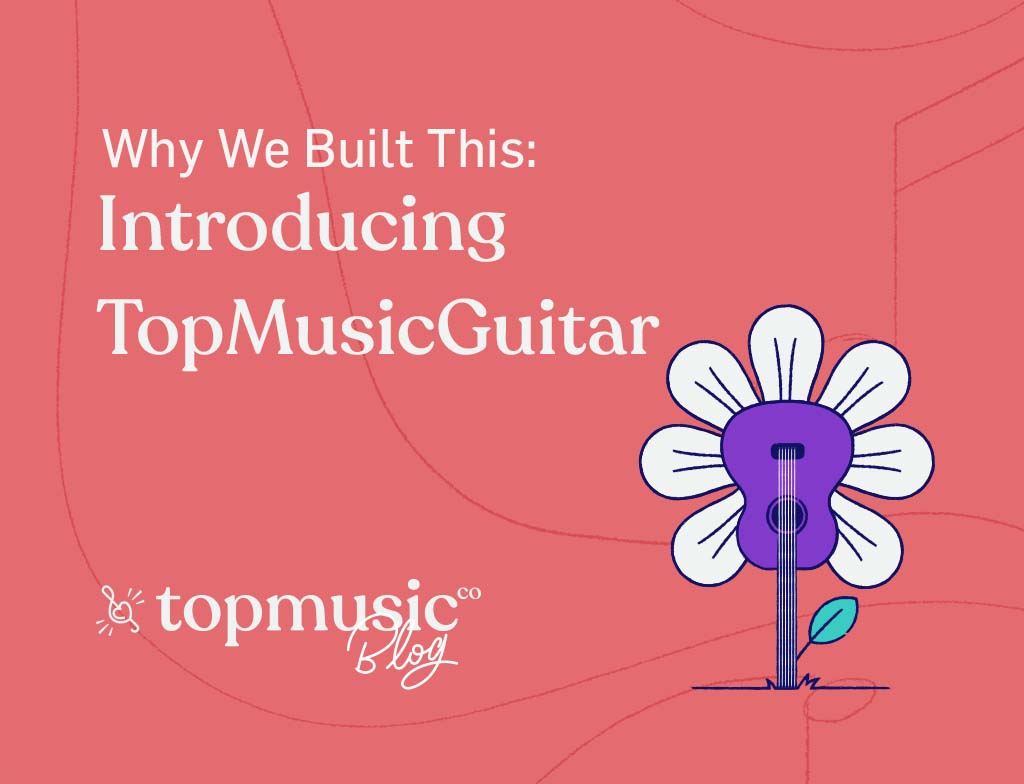 post image introducing TopMusic Guitar to our music teachers