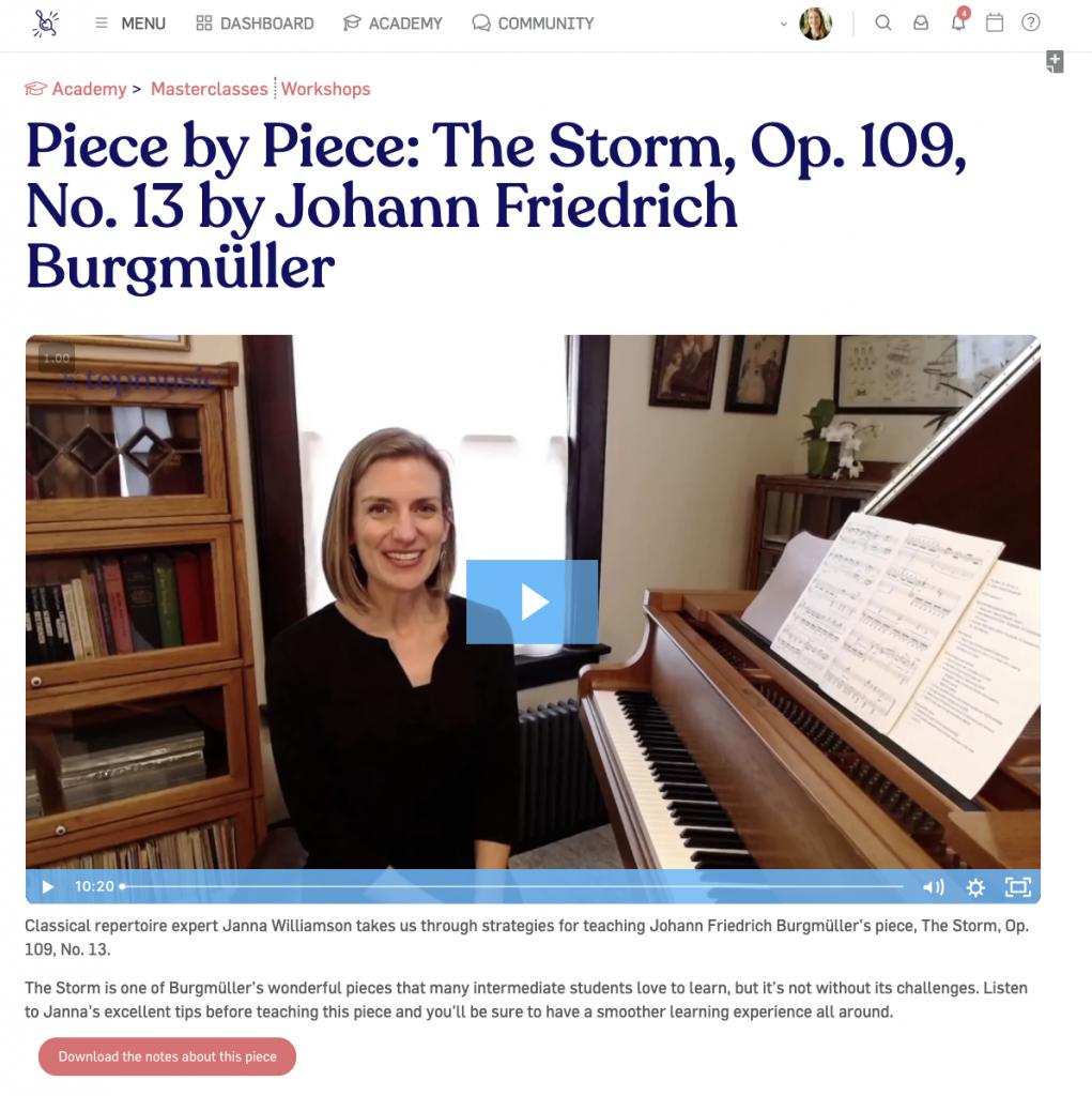 Janna piece by piece course