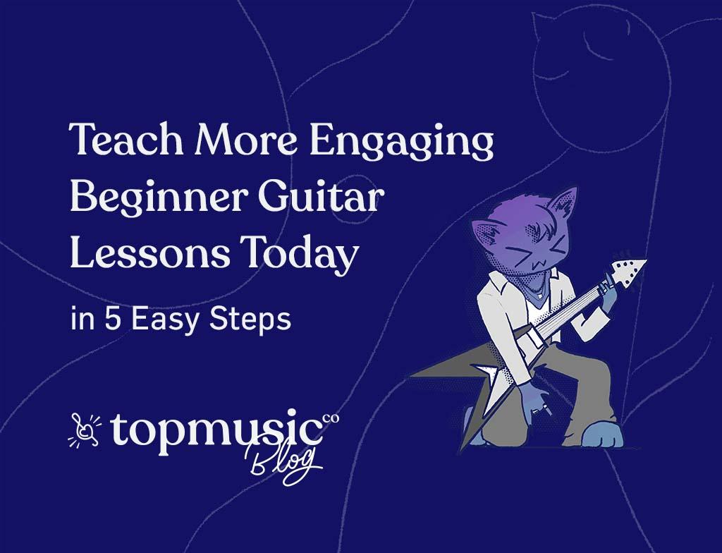 teach beginner guitar lessons 2