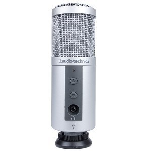 podcasting mic piano