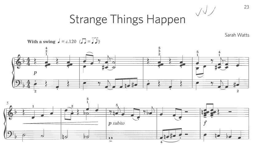 piano exam music