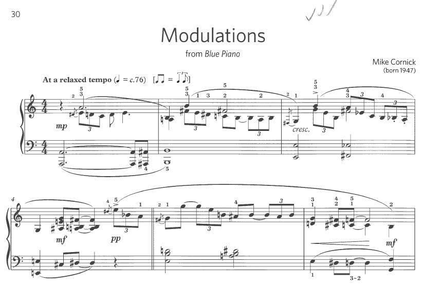 jazz piano exam piece